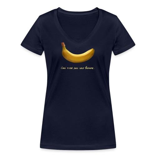 BANAAN 09 - Vrouwen bio T-shirt met V-hals van Stanley & Stella