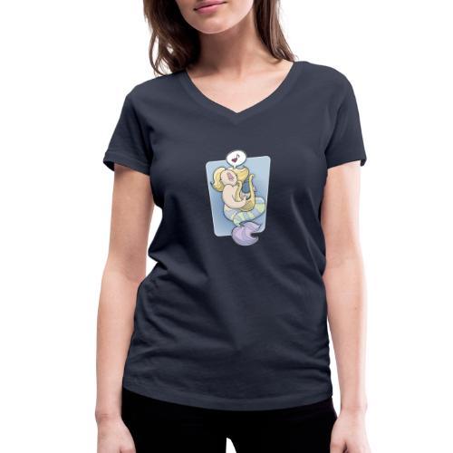 Sirene - Frauen Bio-T-Shirt mit V-Ausschnitt von Stanley & Stella