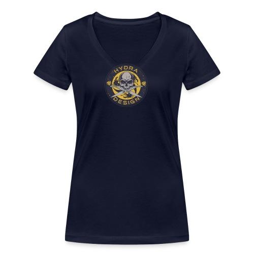 Hydra Design Roman knives & skull - T-shirt ecologica da donna con scollo a V di Stanley & Stella
