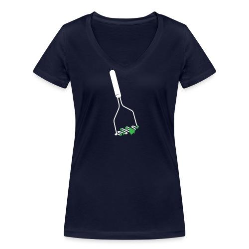 Stamper - Vrouwen bio T-shirt met V-hals van Stanley & Stella
