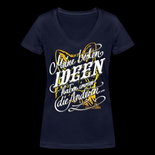 Beste Ideen - Frauen Bio-T-Shirt mit V-Ausschnitt von Stanley & Stella