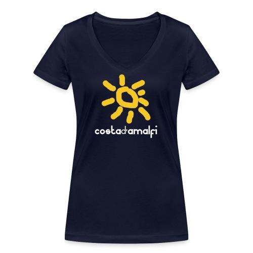 costadamalfi - T-shirt ecologica da donna con scollo a V di Stanley & Stella