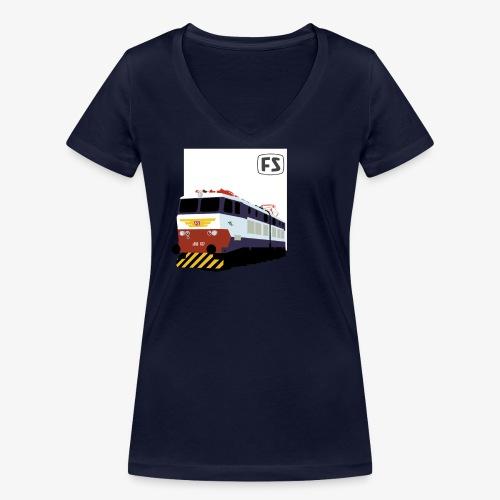 FS E 656 Caimano - T-shirt ecologica da donna con scollo a V di Stanley & Stella