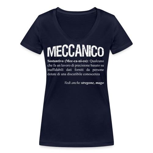 Meccanico = Mago? - T-shirt ecologica da donna con scollo a V di Stanley & Stella