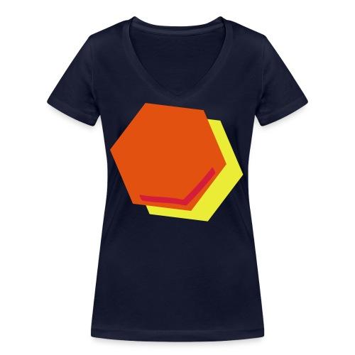 detail2 - Vrouwen bio T-shirt met V-hals van Stanley & Stella