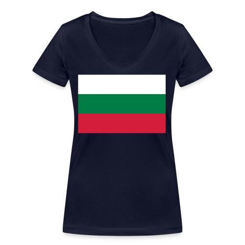 Bulgaria - Vrouwen bio T-shirt met V-hals van Stanley & Stella