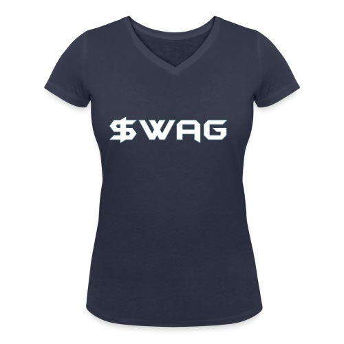 Swag - Women's Organic V-Neck T-Shirt by Stanley & Stella