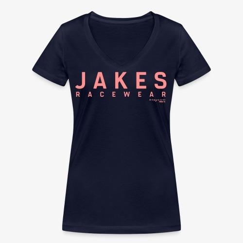 JAKES_Original_2018_Logo_ - Økologisk Stanley & Stella T-shirt med V-udskæring til damer