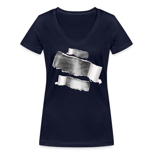 Chest X-Ray - T-shirt ecologica da donna con scollo a V di Stanley & Stella