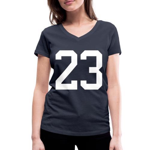 23 VISUR Stefan - Frauen Bio-T-Shirt mit V-Ausschnitt von Stanley & Stella
