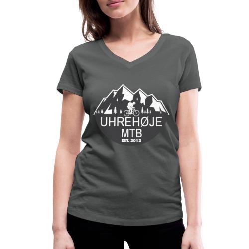 UhreHøje MTB - Økologisk Stanley & Stella T-shirt med V-udskæring til damer