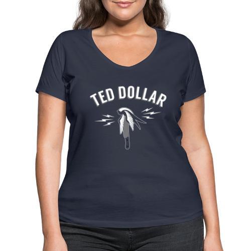 hirondelle sur couteau - T-shirt bio col V Stanley & Stella Femme