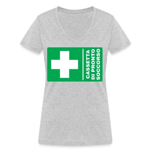 cartello png - T-shirt ecologica da donna con scollo a V di Stanley & Stella