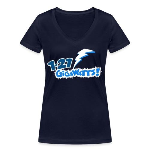 1.21 Gigawatts - Women's Organic V-Neck T-Shirt by Stanley & Stella
