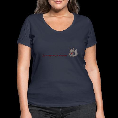 RavenWolfire Design - T-shirt bio col V Stanley & Stella Femme