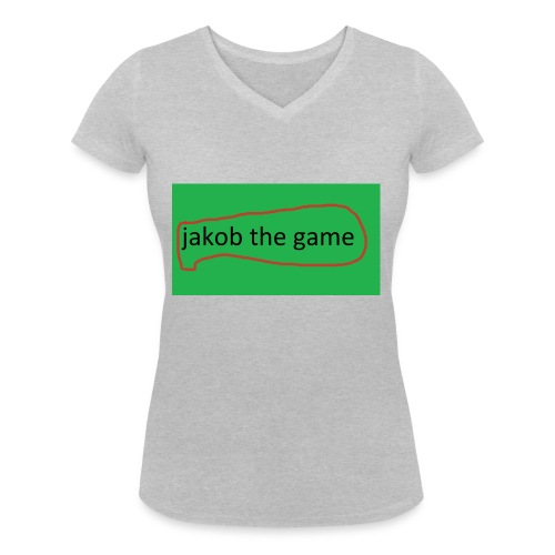 jakob the game - Økologisk Stanley & Stella T-shirt med V-udskæring til damer