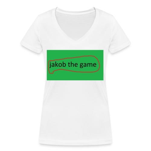 jakobthegame - Økologisk Stanley & Stella T-shirt med V-udskæring til damer