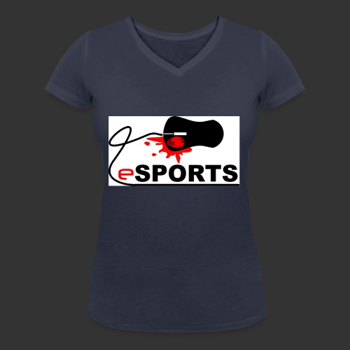 eSPORTS - Frauen Bio-T-Shirt mit V-Ausschnitt von Stanley & Stella