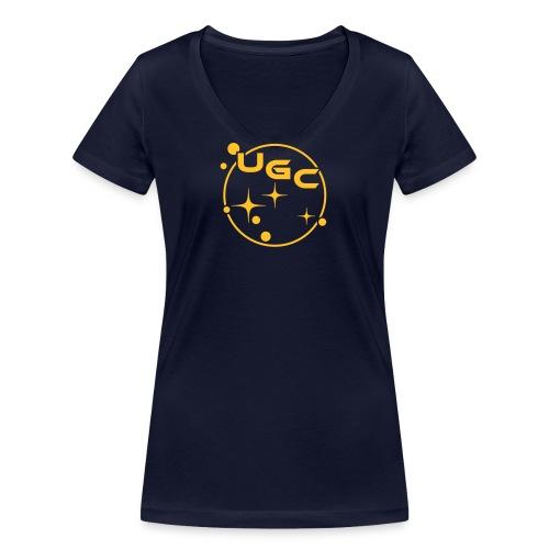 UGC - Kreis Symbol - Frauen Bio-T-Shirt mit V-Ausschnitt von Stanley & Stella