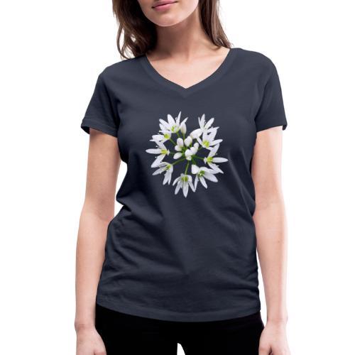 TIAN GREEN Garten - Bärlauch 2020 01 - Frauen Bio-T-Shirt mit V-Ausschnitt von Stanley & Stella