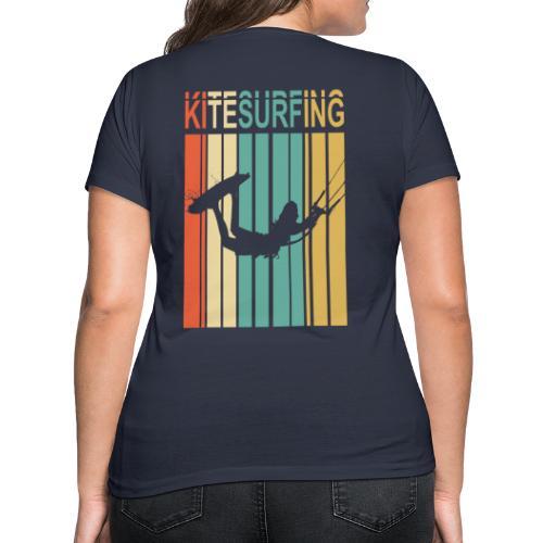 Kitesurfing - T-shirt bio col V Stanley & Stella Femme
