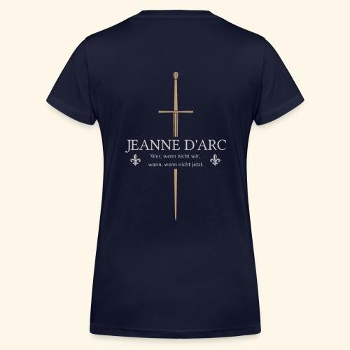 Jeanne d arc - Frauen Bio-T-Shirt mit V-Ausschnitt von Stanley & Stella