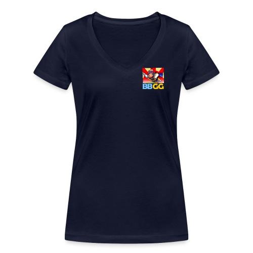SuperCat Tshirt 03 - Women's Organic V-Neck T-Shirt by Stanley & Stella