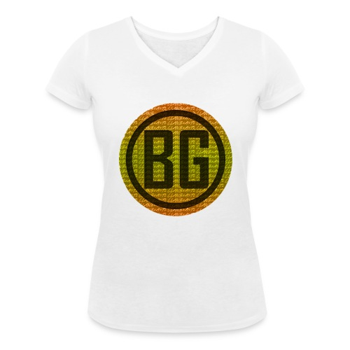 BeAsTz GAMING HOODIE - Women's Organic V-Neck T-Shirt by Stanley & Stella