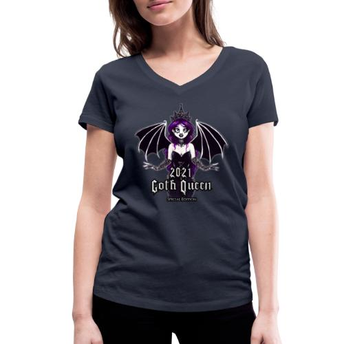 Goth Queen 2021 Merch Special Edition - Women's Organic V-Neck T-Shirt by Stanley & Stella