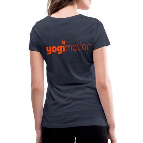yogx - Frauen Bio-T-Shirt mit V-Ausschnitt von Stanley & Stella
