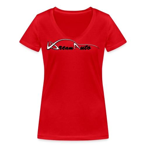 V DreamAuto - T-shirt bio col V Stanley & Stella Femme