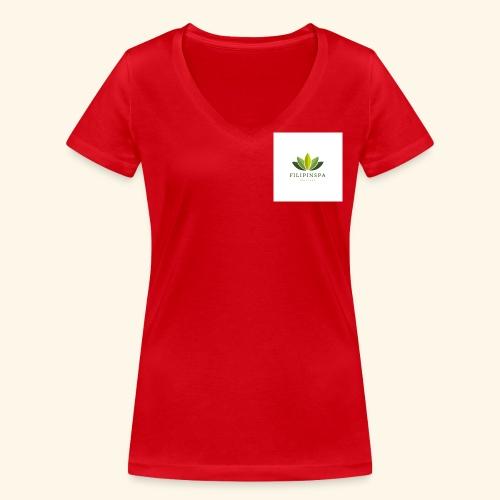 logo - Ekologisk T-shirt med V-ringning dam från Stanley & Stella