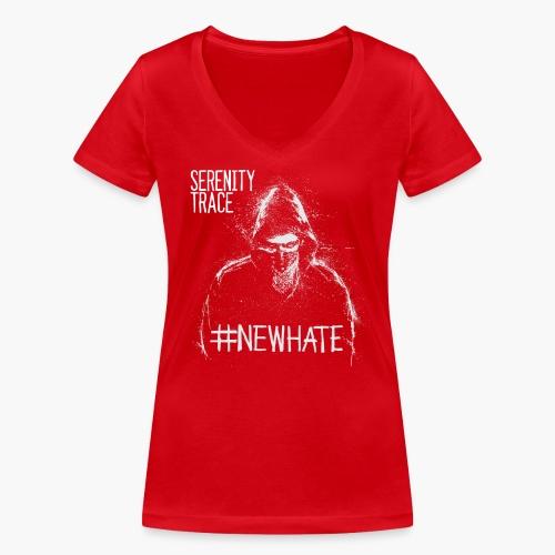 #NewHate Male - Økologisk T-skjorte med V-hals for kvinner fra Stanley & Stella