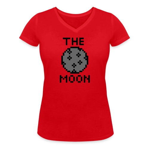 The Moon - Frauen Bio-T-Shirt mit V-Ausschnitt von Stanley & Stella