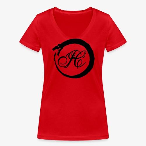 IshakCagalaga - Frauen Bio-T-Shirt mit V-Ausschnitt von Stanley & Stella