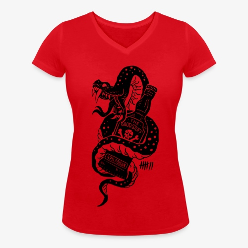 7 Apparel - The Good Stuff - Frauen Bio-T-Shirt mit V-Ausschnitt von Stanley & Stella
