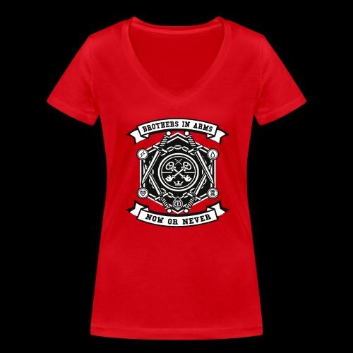 Brothers In Arms - Now or Never - Frauen Bio-T-Shirt mit V-Ausschnitt von Stanley & Stella