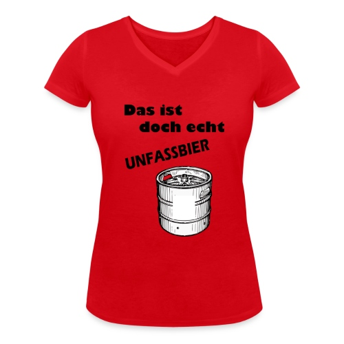 Unfassbar - Frauen Bio-T-Shirt mit V-Ausschnitt von Stanley & Stella