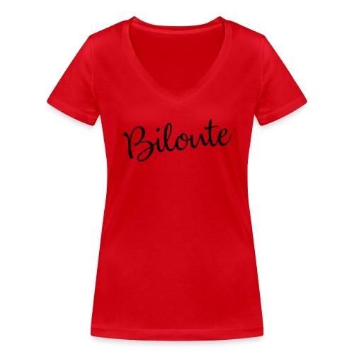 Aubstd Biloute - T-shirt bio col V Stanley & Stella Femme