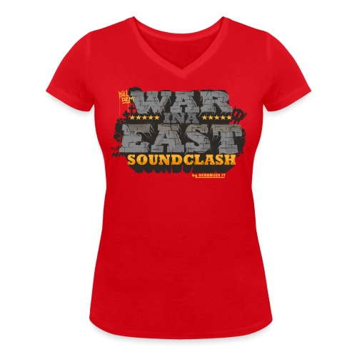 WAR INA EAST woman - Women's Organic V-Neck T-Shirt by Stanley & Stella