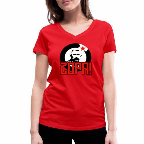 Zopa! - Vrouwen bio T-shirt met V-hals van Stanley & Stella