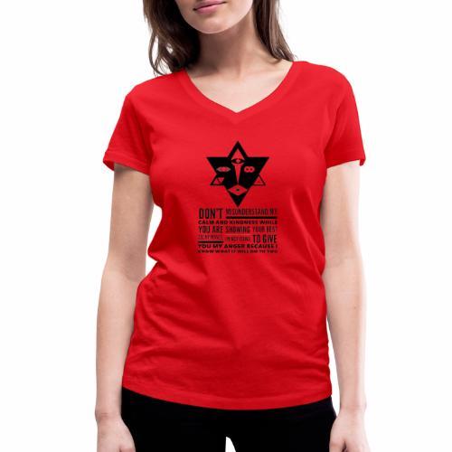 The Unordinary - Økologisk Stanley & Stella T-shirt med V-udskæring til damer