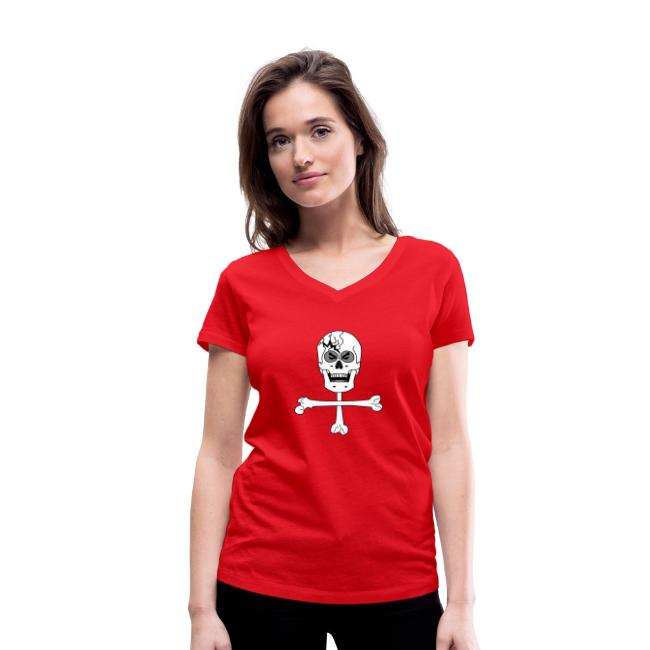 Crâne et croix d'os …Halloween fais moi peur FS FC