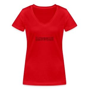 disturbo dissociativo - T-shirt ecologica da donna con scollo a V di Stanley & Stella