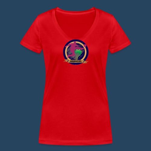 RockyBeach Boys Fan-Merch - Frauen Bio-T-Shirt mit V-Ausschnitt von Stanley & Stella