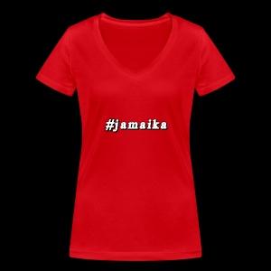 #Jamaika - Frauen Bio-T-Shirt mit V-Ausschnitt von Stanley & Stella