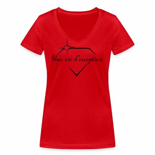 Femmes d'exceptions - T-shirt bio col V Stanley & Stella Femme