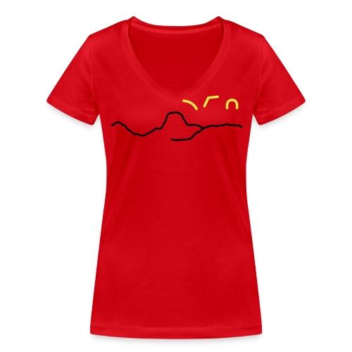 PDCS Clubdesign 2017 - Frauen Bio-T-Shirt mit V-Ausschnitt von Stanley & Stella