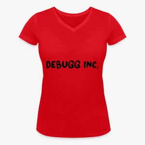 Debugg INC. Brush Edition - Women's Organic V-Neck T-Shirt by Stanley & Stella