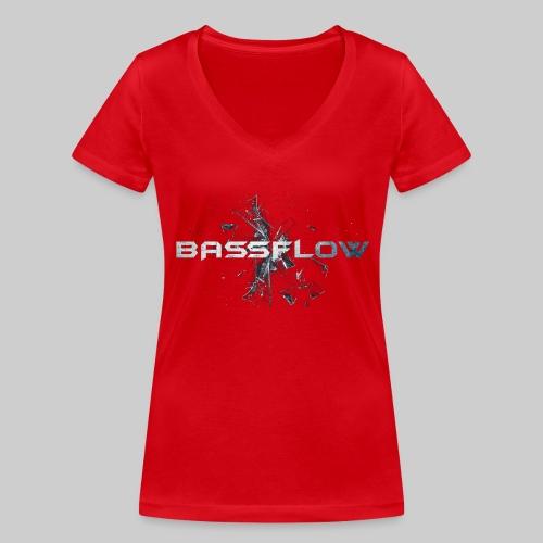 Bassflow Shirt - Men - Vrouwen bio T-shirt met V-hals van Stanley & Stella